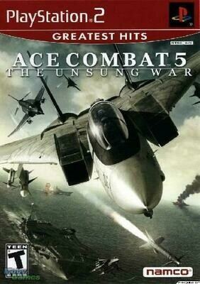 ACE COMBAT 5 UNSUNG WAR GREATEST HITS (COMPLETE IN BOX) (usagé)