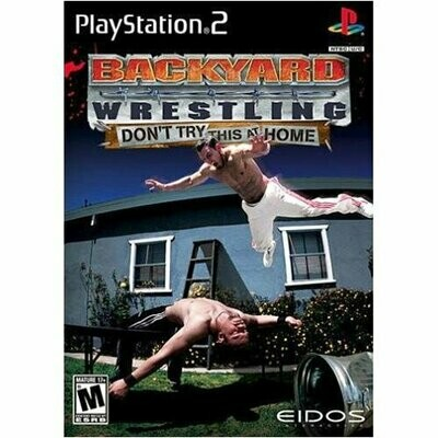 BACKYARD WRESTLING DONT TRY THIS AT HOME (WITH BOX) (usagé)