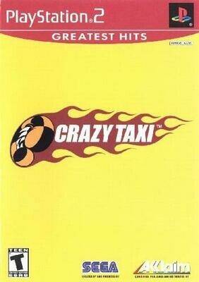 CRAZY TAXI GREATEST HITS (WITH BOX) (usagé)