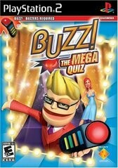 BUZZ THE MEGA QUIZ GAME ONLY (COMPLETE IN BOX) (usagé)
