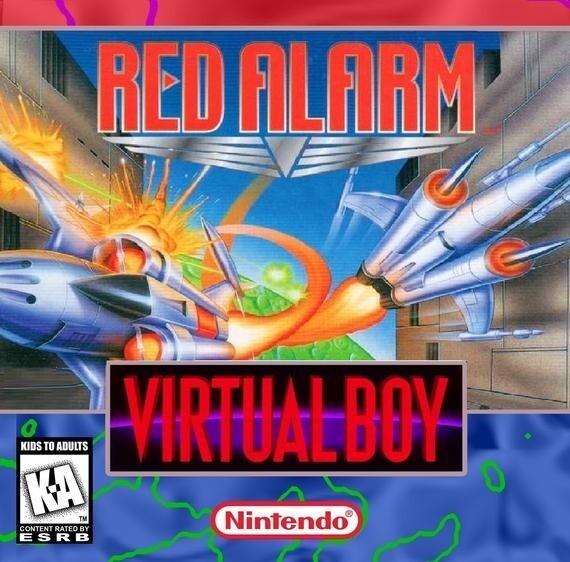 VIRTUAL BOY RED ALARM (usagé)