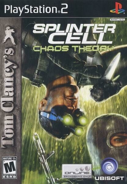 TOM CLANCY'S SPLINTER CELL CHAOS THEORY (WITH BOX) (usagé)