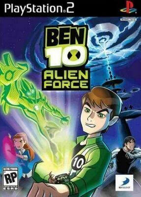 BEN 10 ALIEN FORCE (WITH BOX) (usagé)