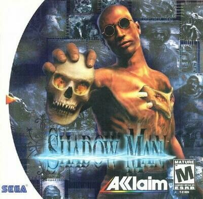 SHADOW MAN (COMPLETE IN BOX) (usagé)