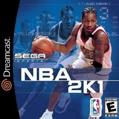 NBA 2K1 (COMPLETE IN BOX) (usagé)