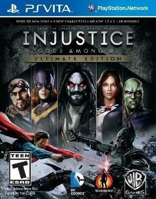 INJUSTICE GODS AMONG US (WITH BOX) (usagé)