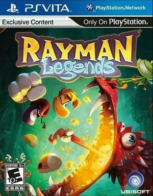 RAYMAN LEGENDS (WITH BOX) (usagé)