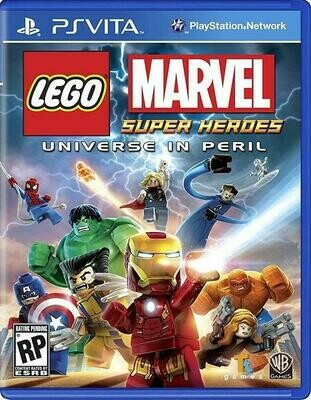 LEGO MARVEL SUPER HEROES UNIVERSE IN PERIL (WITH BOX) (usagé)