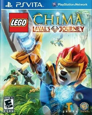 LEGO LEGEND OF CHIMA LAVAL'S JOURNEY (WITH BOX) (usagé)