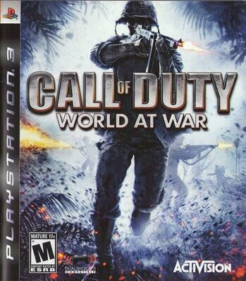 CALL OF DUTY WORLD AT WAR (COMPLETE IN BOX) (usagé)