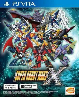 SUPER ROBOT WARS X (usagé)