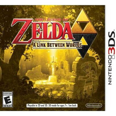 THE LEGEND OF ZELDA A LINK BETWEEN WORLDS (WITH BOX) (usagé)
