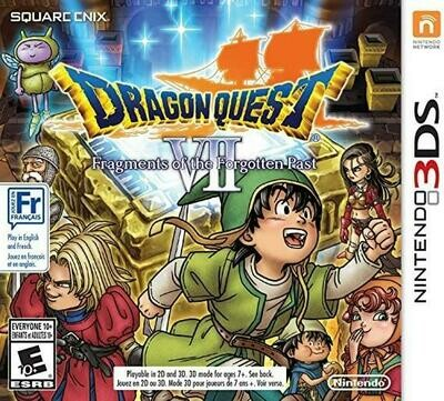 DRAGON QUEST 7 FRAGMENTS OF THE FORGOTTEN PAST (WITH BOX) (usagé)