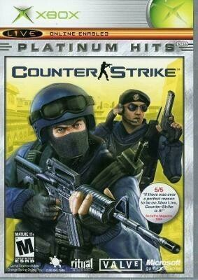 COUNTER STRIKE PLATINUM HITS (COMPLETE IN BOX) (usagé)