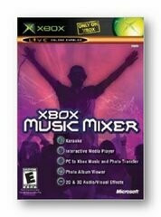 XBOX MUSIC MIXER (COMPLETE IN BOX) (usagé)