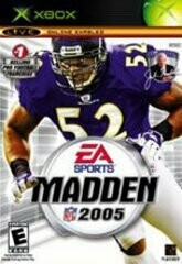 MADDEN 2005 (COMPLETE IN BOX) (usagé)