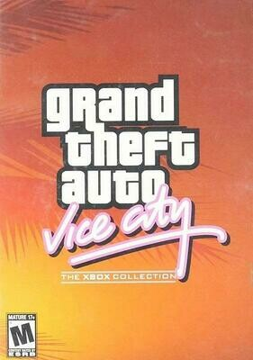 GRAND THEFT AUTO VICE CITY THE XBOX COLLECTION (COMPLETE IN BOX) (usagé)