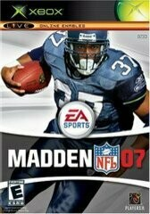 MADDEN 2007 (COMPLETE IN BOX) (usagé)