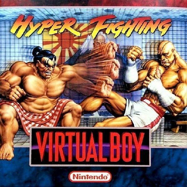 VIRTUAL BOY HYPER FIGHTING ''HOMEBREW'' (COMPLETE IN BOX) (usagé)