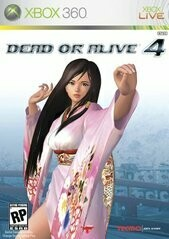 DEAD OR ALIVE 4 (COMPLETE IN BOX)