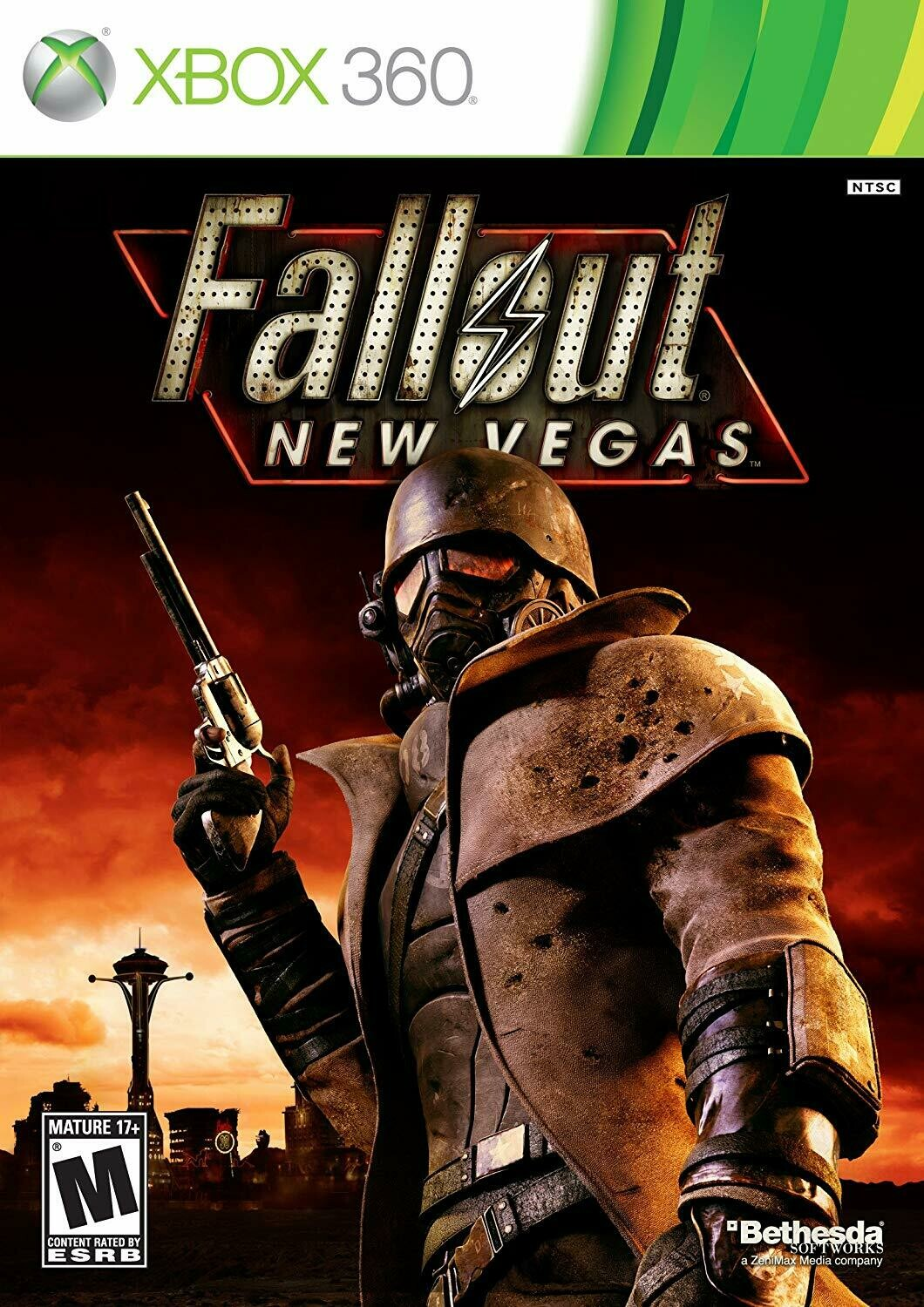 FALLOUT NEW VEGAS FRENCH (COMPLETE IN BOX)