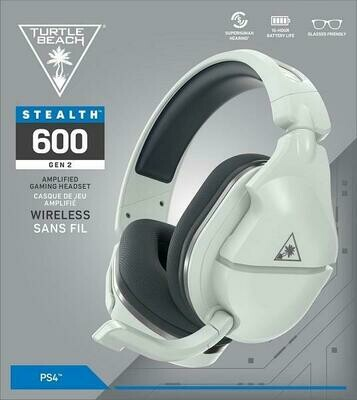 HEADSET TURTLE BEACH EAR FORCE STEALTH 600 V2 WHITE FOR PS5 / PS4 / SWITCH