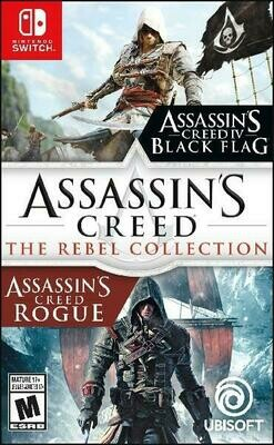 ASSASSIN'S CREED THE REBEL COLLECTION (usagé)