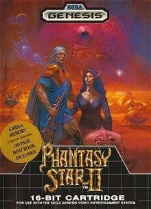 PHANTASY STAR II (COMPLETE IN BOX) (usagé)