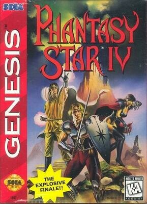 PHANTASY STAR IV (COMPLETE IN BOX) (usagé)