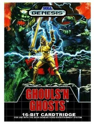 GHOULS N' GHOSTS (WITH BOX) (usagé)