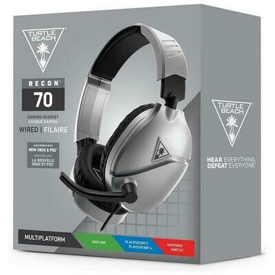 HEADSET TURTLE BEACH EAR FORCE RECON 70 GREY FOR PS5 / PS4 / XSX / XONE / SWITCH