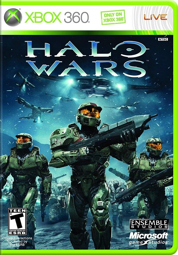HALO WARS FRENCH (COMPLETE IN BOX)