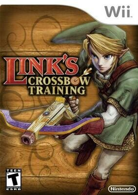 LINK'S CROSSBOW TRAINING (SLEEVE ONLY) (usagé)
