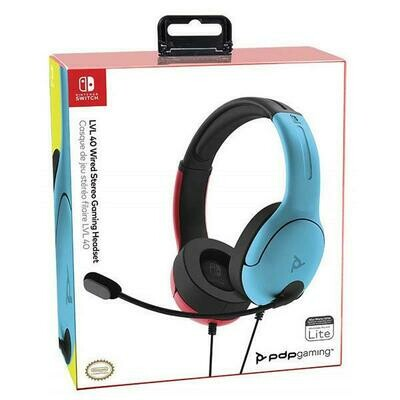 HEADSET LVL40 WIRED STEREO FOR NSW