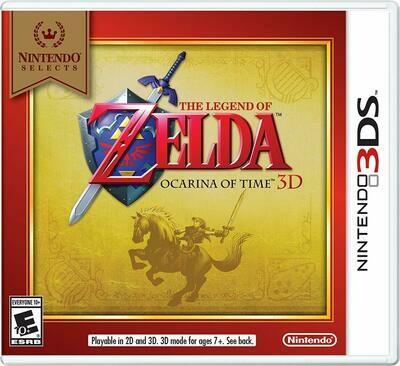 THE LEGEND OF ZELDA OCARINA OF TIME 3DS (usagé)