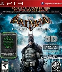 BATMAN ARKHAM ASYLUM GAME OF THE YEAR EDITION GREATEST HITS(COMPLETE IN BOX) (usagé)