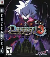 DISGAEA 3 ABSENCE OF JUSTICE (COMPLETE IN BOX) (usagé)