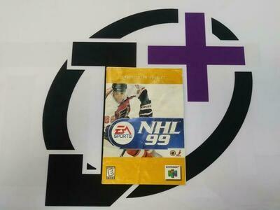 N64 NHL 99 INSTRUCTION BOOKLET ENGLISH (usagé)