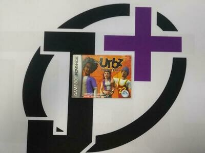 GBA THE URBZ SIMS IN THE CITY INSTRUCTION BOOKLET BILINGUAL (usagé)