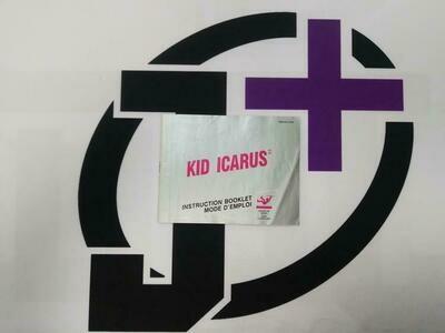 NES KID ICARUS INSTRUCTION BOOKLET BILINGUAL (usagé)