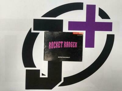 NES ROCKET RANGER INSTRUCTION BOOKLET ENGLISH (usagé)