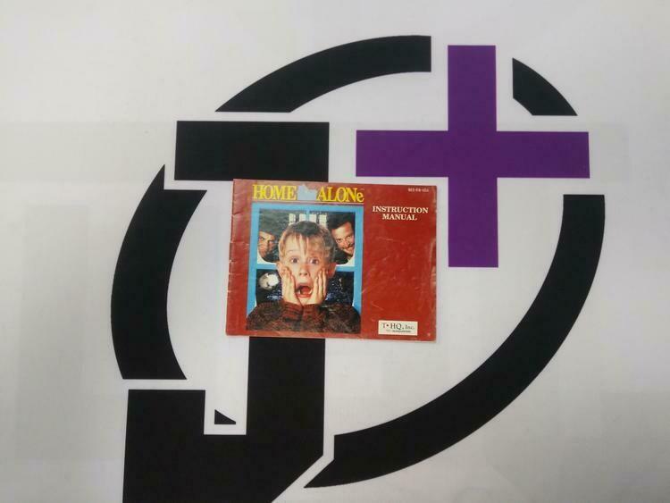 NES HOME ALONE INSTRUCTION BOOKLET ENGLISH (usagé)