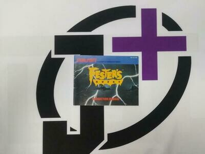 NES FESTER'S QUEST INSTRUCTION BOOKLET ENGLISH (usagé)