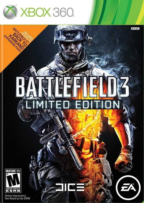 BATTLEFIELD 3 LIMITED EDITION (WITH BOX)