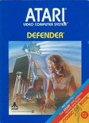 ATARI 2600 DEFENDER (WITH BOX) (usagé)
