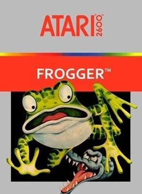 ATARI 2600 FROGGER (COMPLETE IN BOX) (usagé)