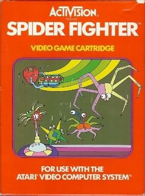 ATARI 2600 SPIDER FIGHTER (COMPLETE IN BOX) (usagé)