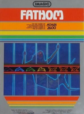 ATARI 2600 FATHOM (WITH BOX) (usagé)