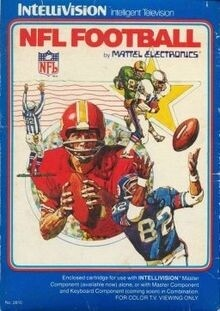 INTELLIVISION NFL FOOTBALL (COMPLETE IN BOX)