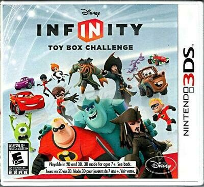 DISNEY INFINITY GAME ONLY (COMPLETE IN BOX) (usagé)